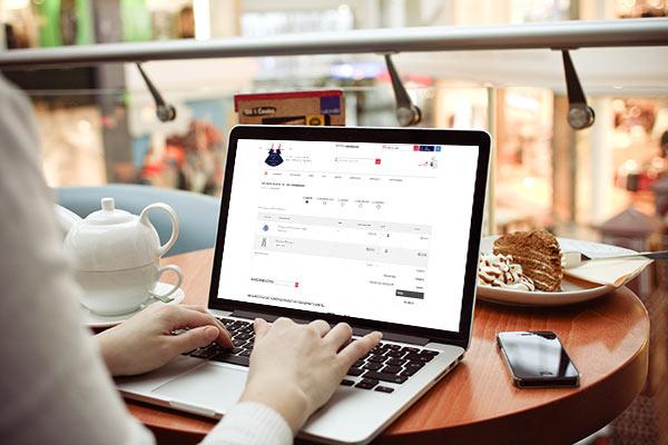 Récapitulatif de commande sur le site www.petitetunique.com